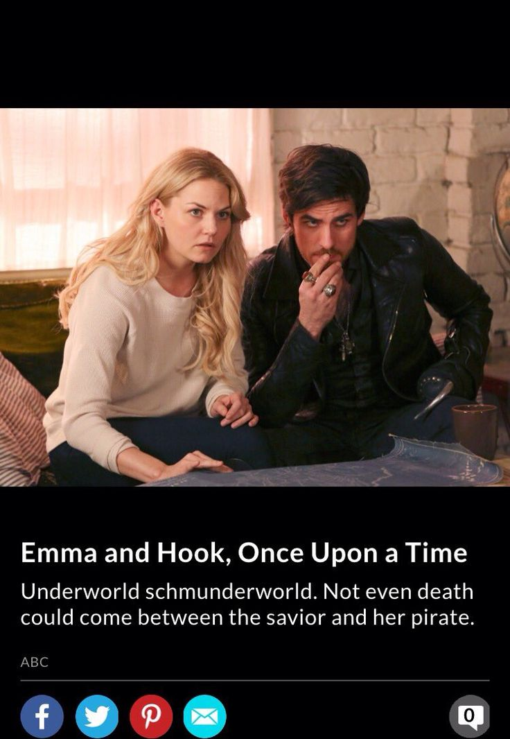 Killian & Emma are one of E!Online's Top TV Couples #CaptainSwan
