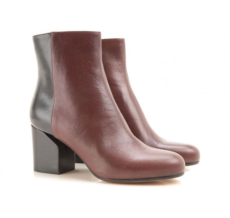 Maison Martin Margiela leather booties (S38WU0284 SX9273 962) - Bledoncy