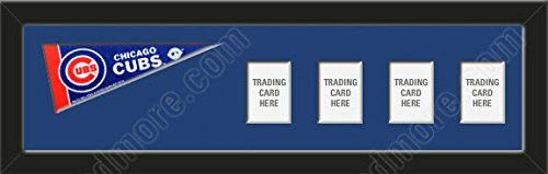 Chicago Cubs Memory Mats Are Mat Boards Stenciled & Cut With Team Name Or Your Name / Text-To Insert Your Photos/Cards-Please Go Through Description & Mention In Gift Message The Option You Choose
