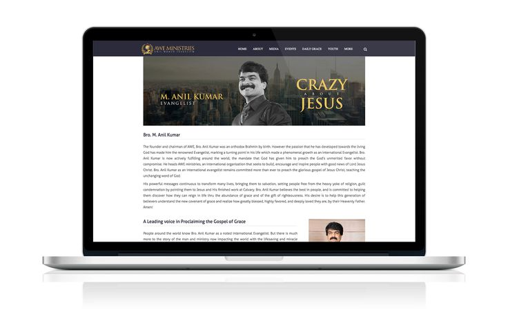 awe ministries website design and development by Billy vemuri www.billyvemuri.com