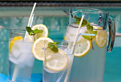 Sassy Water for a flat tummy!   2 liters water (about 8 ½ cups)    1 teaspoon freshly grated ginger    1 medium cucumber, peeled and thinly sliced    1 medium lemon, thinly sliced    12 small spearmint leaves.      Combine all ingredients in a large pitcher and let flavors blend overnight. Drink the entire pitcher by the end of each day. TRYING THIS TOO! EASY AS IT CAN GET FOR LOOSING WEIGHT!