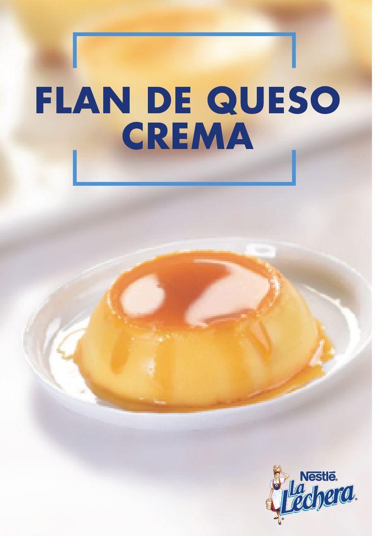 Esta receta de flan de queso crema es suave y sedosa. Con su clásica decorativo baño de caramelo, puedes agradecerle a la leche condensada La Lechera, la leche evaporada y al toque de vainilla por ayudarte a darle a tu mesa de postres estas fiestas todo el sabor latino tradicional.