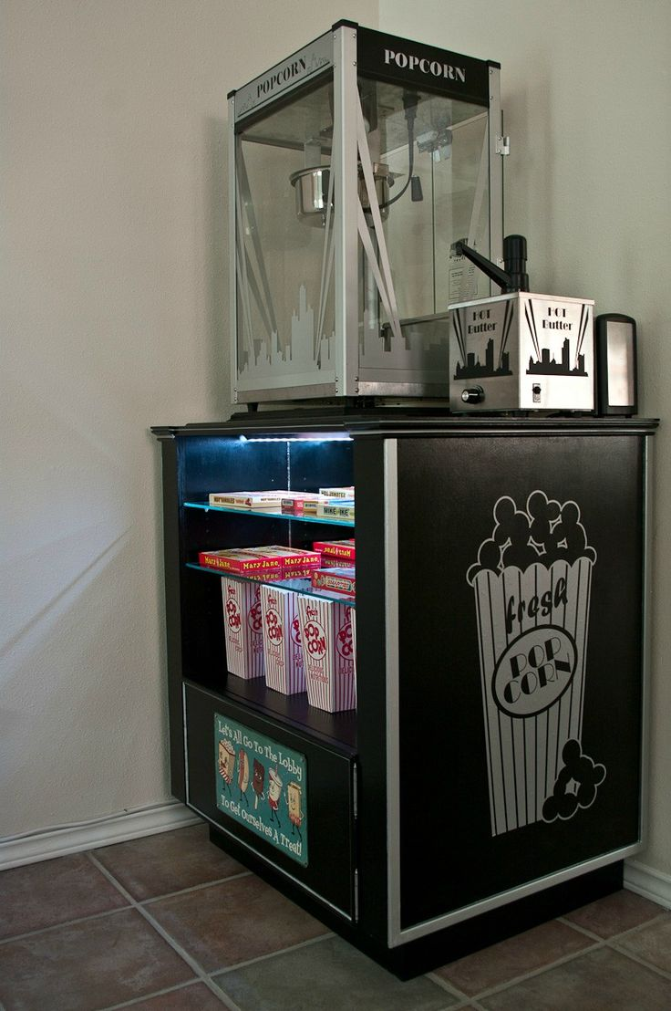 DIY Concession stand.  Love this.  Everything about it.