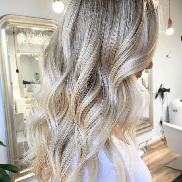 Cheers to champagne Blonde   Color by @cristyjeanhair #hair #hairenvy #hairstyles #haircolor #blonde #champagne #highlights #newandnow #inspiration #maneinterest