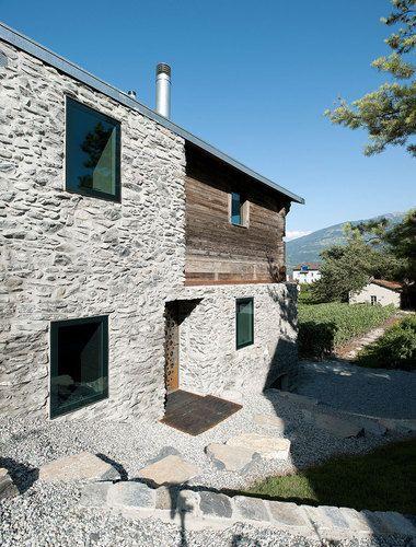 savioz fabrizzi architectes — Germanier house/ Vétroz, Switzerland