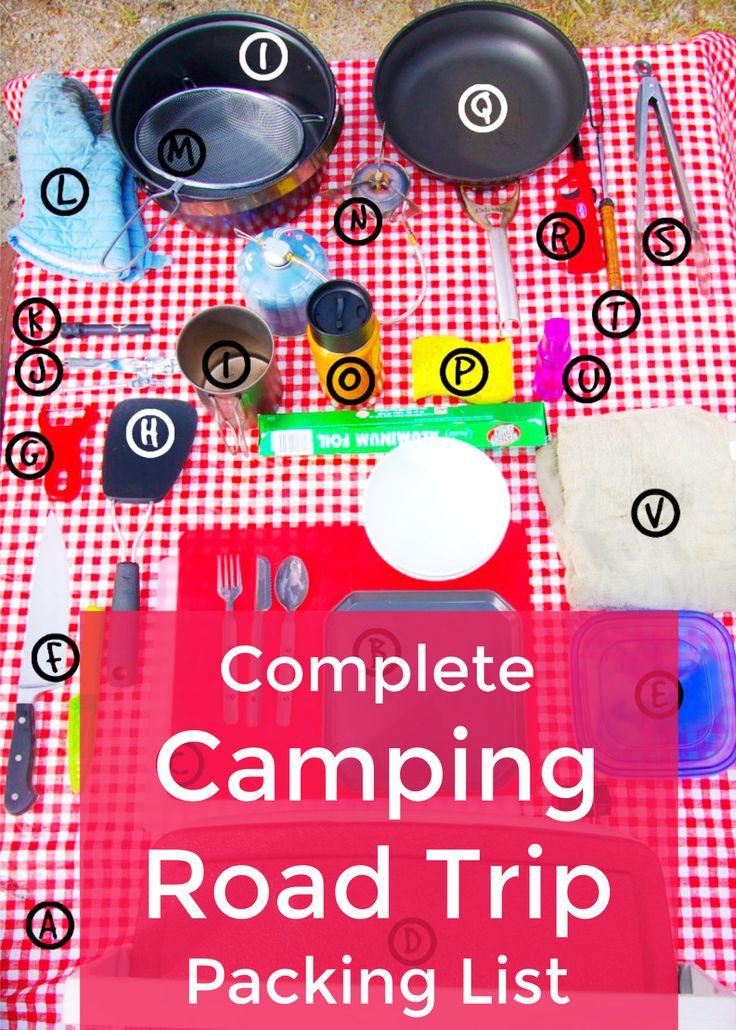 A lista de embalagem essencial para a sua épica viagem de acampamento   – Intentional Travelers Blog