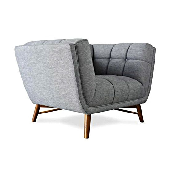 Lounge Chair With A Curvaceous And Unique Attitude Creates A