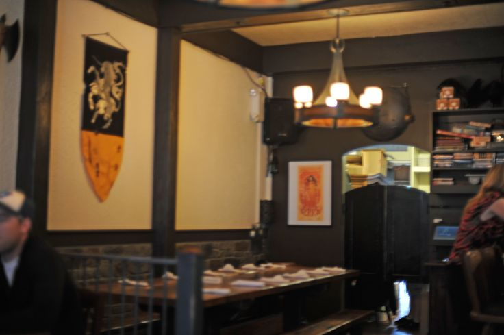 Inside the Storm Crow Tavern on Commercial Drive