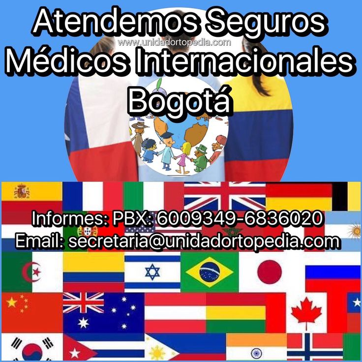 Servicios de atención en ortopedia y traumatologia a extranjeros o viajeros, misioneros, marineros en Bogotá. Contamos con todos los servicios para una atención oportuna e inmediata. Aceptamos polizas médicas extranjeras, pregunte cuales pertenecen a nuestro directorio de servicios y disfrute ya de sus beneficios en la Unidad Especializada en Ortopedia y Traumatologia www.unidadortopedia.com PBX: +571-6923370, Móvil: +57-3175905407, Bogotá, Colombia.