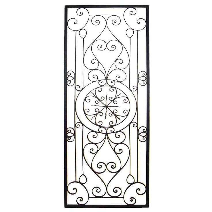 Iron Scroll Wall Art 20 best wrought iron wall decor images on pinterest