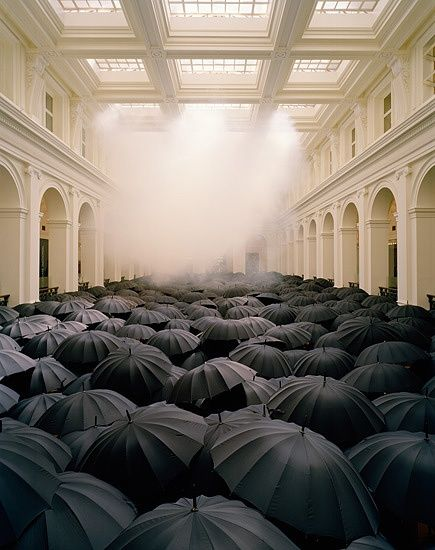 "Matej Andraz Vogrincic's GPO installation ""When on a Winter's Night a Traveller"""