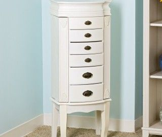 14 Awesome Whitewash Jewelry Armoire Snapshot Ideas