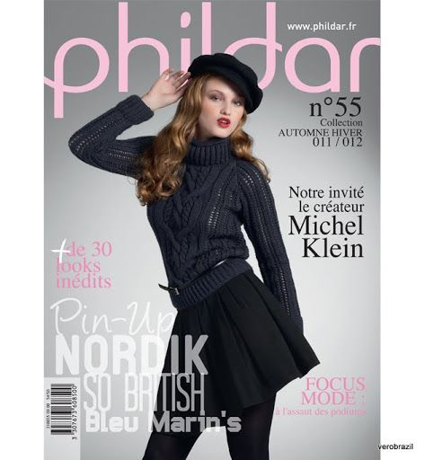 Phildar n°55 - Collection Automne/Hiver (2011/12)