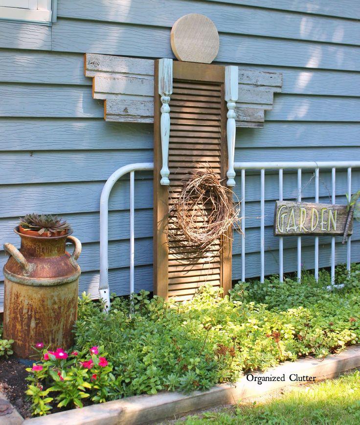 724 Best Images About Primitive Garden On Pinterest