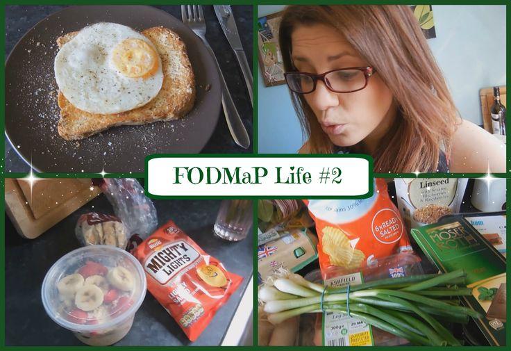 Breakfast, lunch & low FODMaP Shopping for IBS!   MissAmyRach - FODMap Life