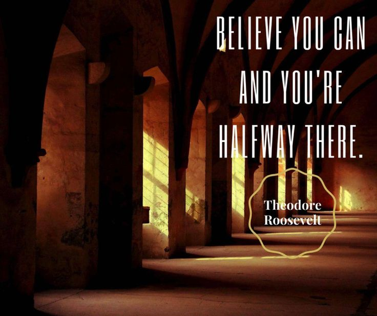 Believe that you can and you're halfway there. - Theodore Roosevelt #Sundaymotivationals #Kommaweer