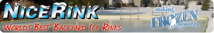 Backyard ice rink tips