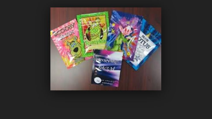 """Scary drug being sold to children. Many are dying almost instantly! Look into it! It's called SPICE. It's packaging has images like sponge bob and Scooby doo. Even sold at gas stations. It's a synthetic marajuana out of China. It's secretly labeled as incense and says """"not for human consumption""""."""