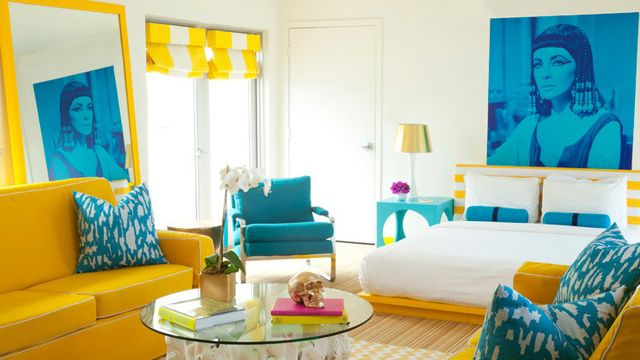 Palm springs style mid century modern elizabeth taylor - Palm springs interior design style ...