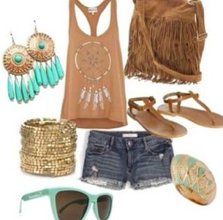 casual hippie