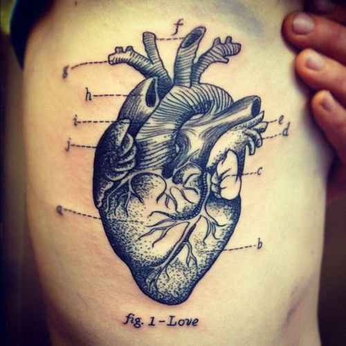 Heart Tattoo | Ash Timlin
