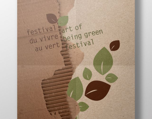Art of Being Green Festival - poster, programme, tickets