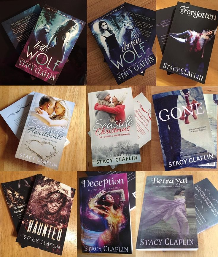 Blog post at Stacy Claflin, Author : My last paperback giveaway was such a hit that I've decided to run another!  I still have some paperbacks sitting around, waiting to be si[..]