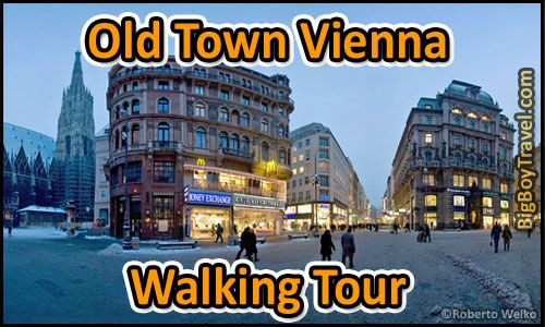 Our FREE Vienna Walking Tour Maps of Old Town. The best do-it-yourself guided walking tours in Vienna (Wien) Austria with printable maps of the city center. Hope you enjoy following our free Old Town Vienna walking tour map during your visit.