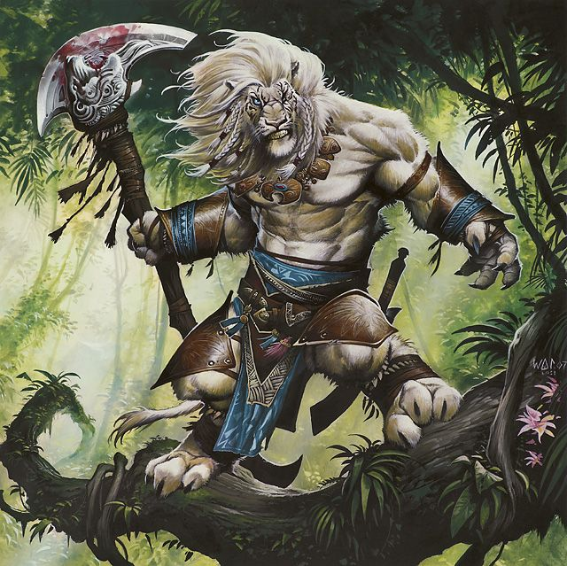 Ajani, Caller of the Pride from 'Magic 2013 Core Set' a powerful new mythic rare