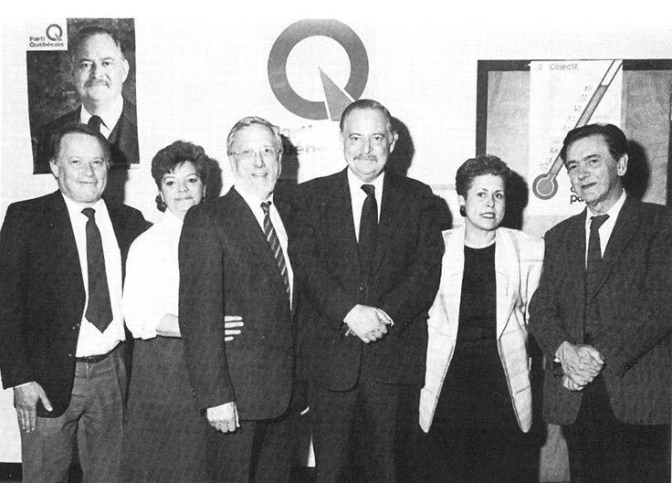 Le Parti Québécois de Jacques Parizeau forme l'opposition officielle (29 députés).