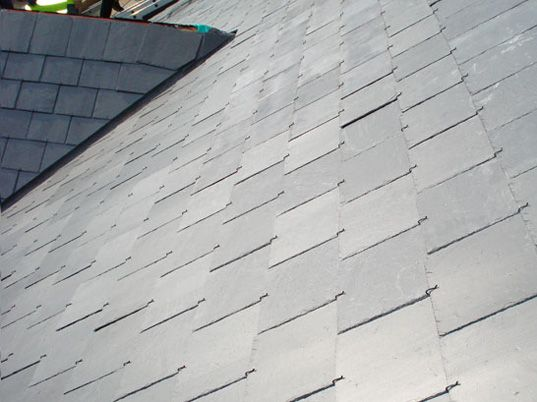 Photovoltaic roof-tiles from Heritage Solar Slate, are among the game-changing new technologies that will put affordable, renewable, clean energy into everything we do - sustainable design, green design, green building, sustainable architecture, solar roof, photovoltaic tiles
