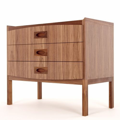 The Morgan Lowboy Is Part Of A Collection Of Morgan Storage Furniture By  Designer Sean Dare Of Dare Studio. The Lowboy Features Three Drawers With  Retro Ha Photo Gallery