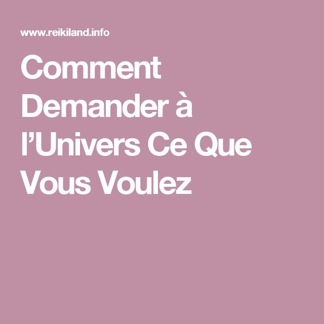 Reiki - Comment Demander à l'Univers Ce Que Vous Voulez - Amazing Secret Discovered by Middle-Aged Construction Worker Releases Healing Energy Through The Palm of His Hands... Cures Diseases and Ailments Just By Touching Them... And Even Heals People Over Vast Distances...