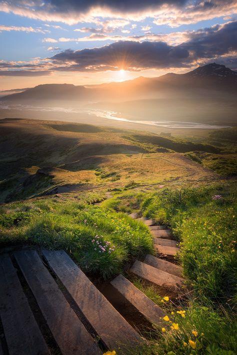 Stairway to heaven - Thórsmörk - Iceland