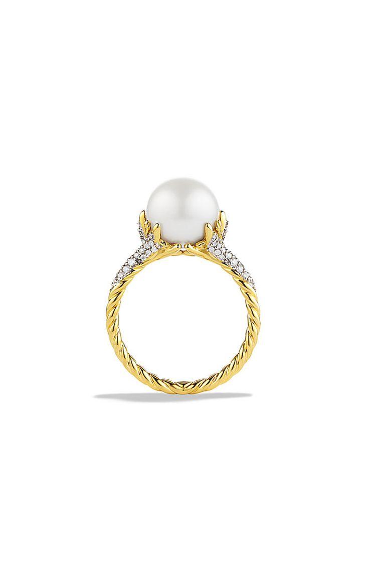 Best 25 engagement ring quiz ideas on pinterest gold engagement david yurman yellow gold pearl engagement ring httpstylemepretty buycottarizona