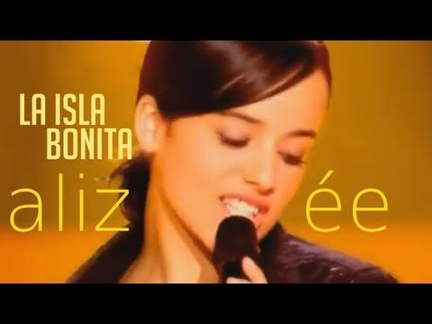 Alizée in her truly unique cover of Madonna's La Isla Bonita broadcast on French television back in 2003. This video has no watermark logos nor banners that ...