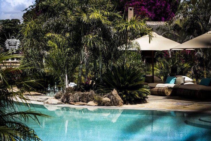 Poolside at Segera Retreat, Kenya