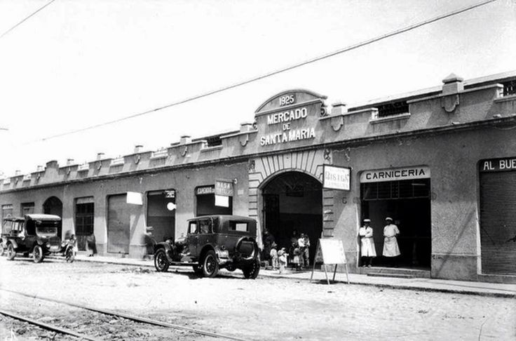 Mercado de Santa Maria la Ribera en 1931