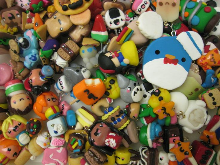 Polymer Clay Charms Collection