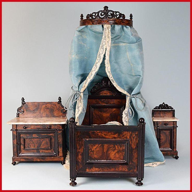 35 Best Rock Graner German Tin Dollhouse Furniture