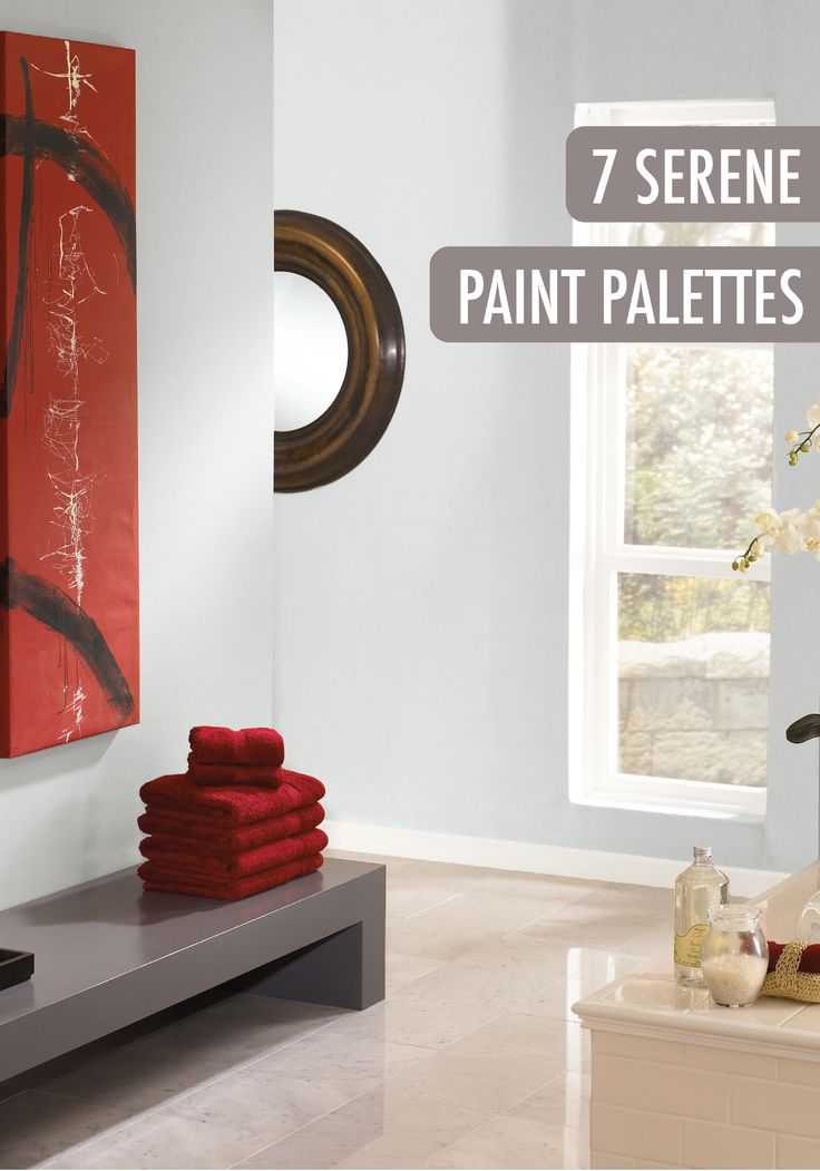 These 7 Serene Paint Palettes Featuring Behr Paint Will
