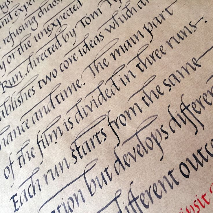 Best italic calligraphy images on pinterest hand
