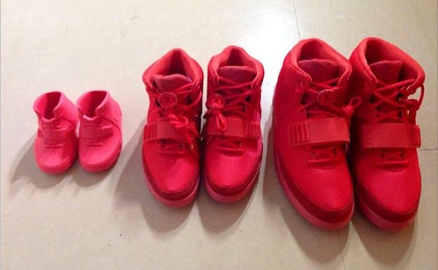 """Red October"" Yeezy 2s   They are too expensive...T^T"