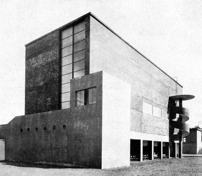 City of Brno Pavilion, Bohuslav Fuchs, Brno Fairs, Czechoslovakia 1927