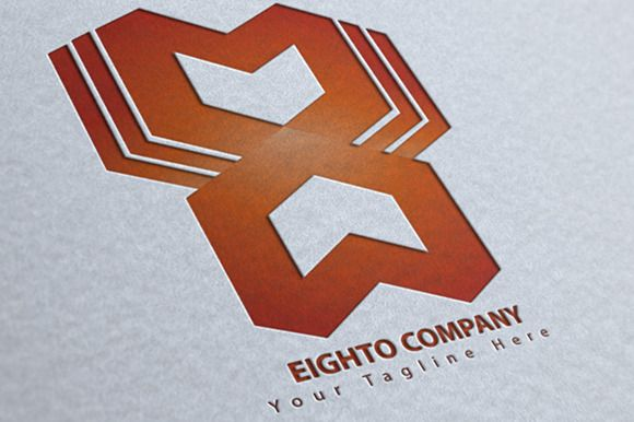 Eighto Logo by MAGOO STUDIO on Creative Market