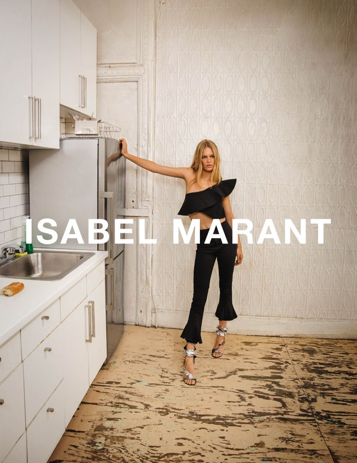 Anna Ewers stars in Isabel Marant's spring-summer 2017 campaign