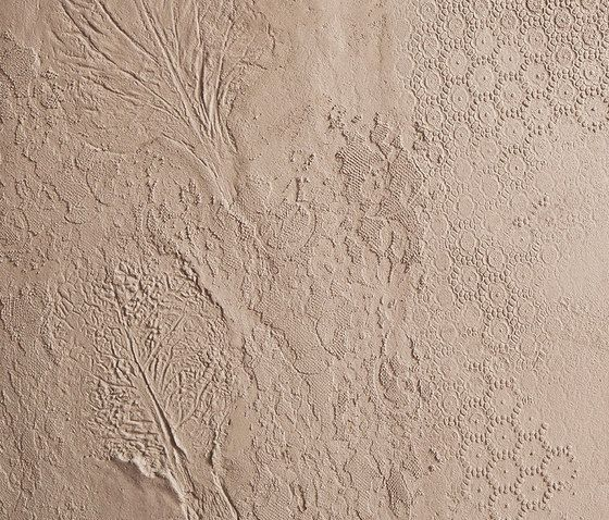 Decorations by Matteo Brioni   Clay plaster