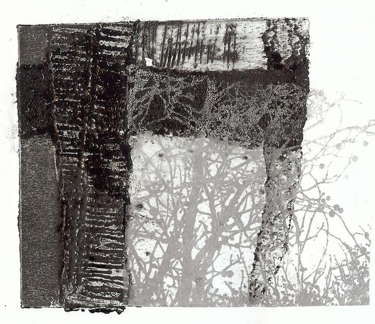 Sue Brown print making