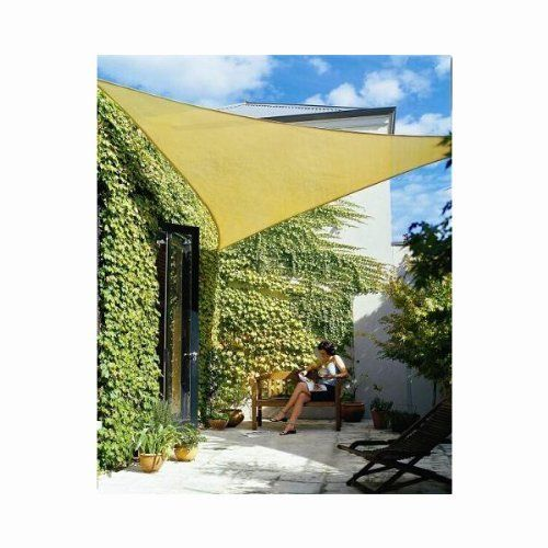 Phoenix 11.5' Triangle Sun Shade Sail Complete Home Kit Desert Sand Color by Phoenix Shade Sails. $32.64. D Rings Triple Stitched Into Each Corner. 95% UV Protection. Durable Polyethylene  Material. 11.5' Per Side Triangle Shade Sail. Includes Complete 6mm Zinc-Plated Mounting Hardware Kit. Phoenix Sun Sails SSL115TKS Triangle 11.5' Per Side Desert Sand Color Sun Sail  Each of our shade sails comes in two varieties: Home and Professional.  The home sails have a lighter we...