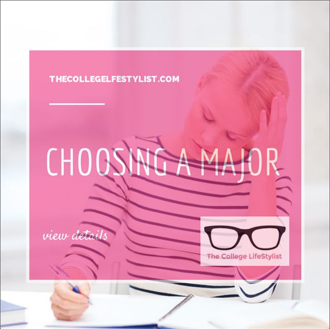 Choosing a College Major   Choosing A Major, High School Seniors ... Choosing a Major. Great tips! Start by ruling out what you know you don